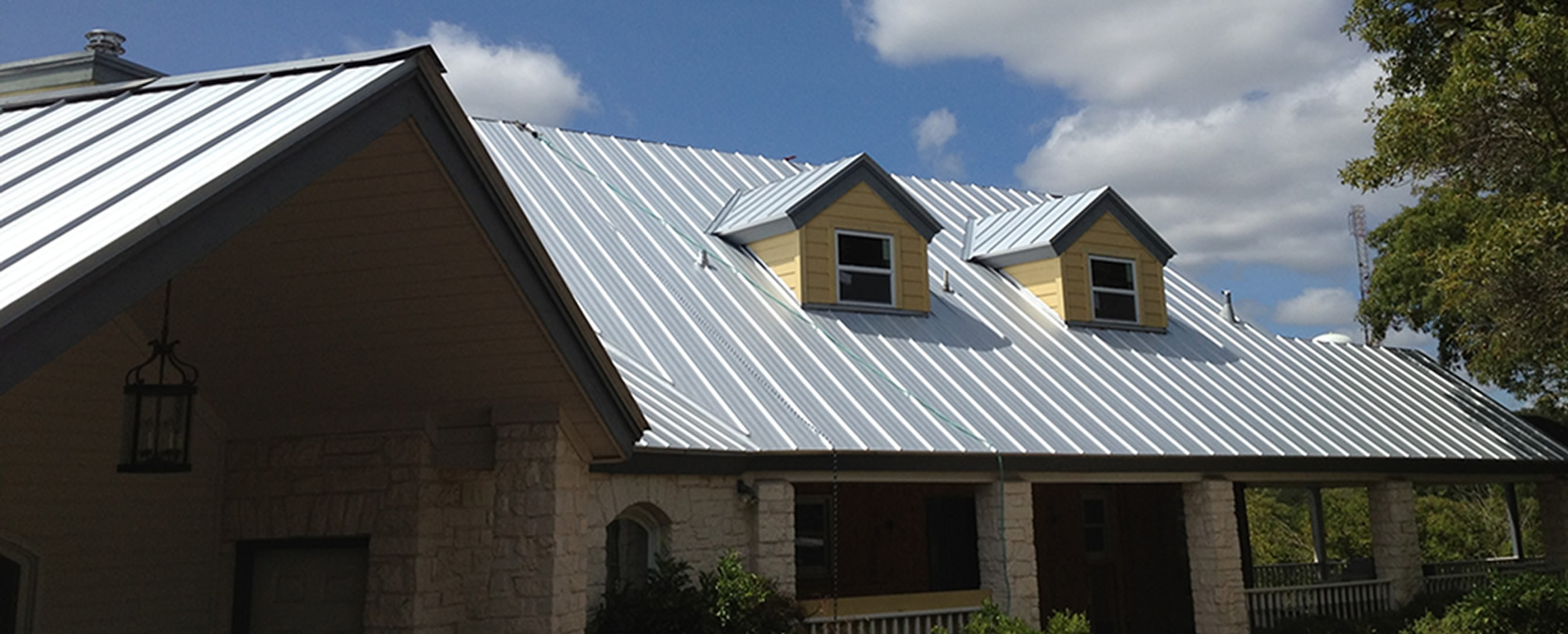 Image result for residential steel roofing